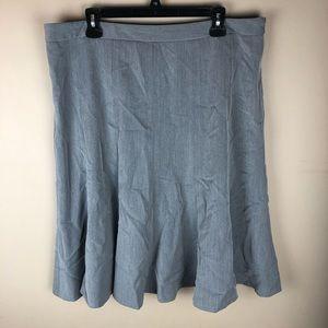 East 5th Grey Tulip Career Skirt